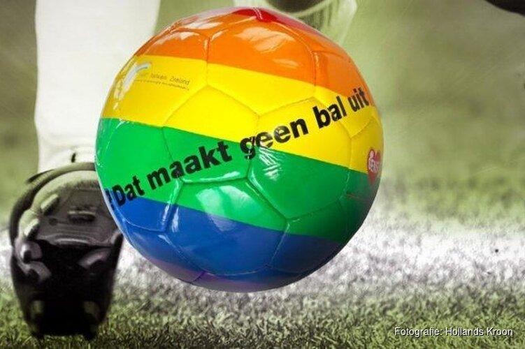 Voetbal is van iedereen; ook de sport in Hollands Kroon zet een streep door discriminatie