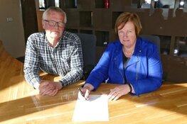 Wethouder Mary van Gent ondertekent intentieverklaring Lokaal Sportakkoord