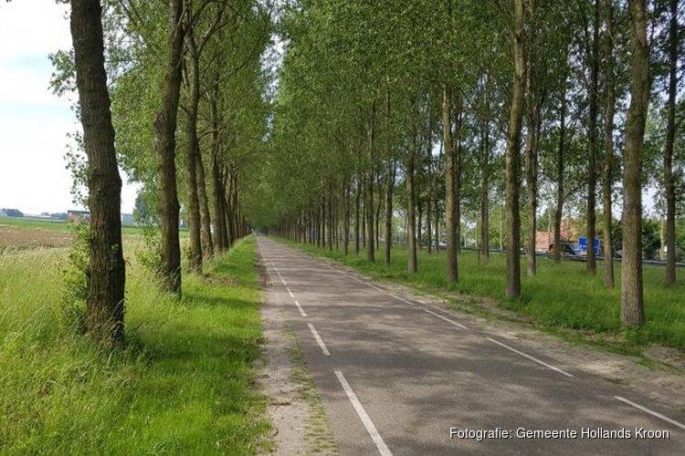 Flevoweg afgesloten voor verwijderen bomen