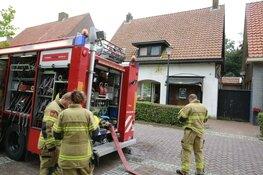 Brand in pand Middenmeer, brandweer rukt met meerdere eenheden uit