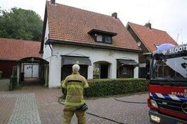 Politie onderzoekt oorzaak van uitbreken brand Middenmeer