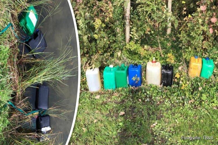 Dieseldieven stelen brandstof uit tractors op weilanden Lutjewinkel
