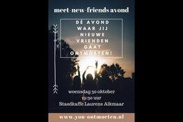 Meet-New-Friends avond in Alkmaar