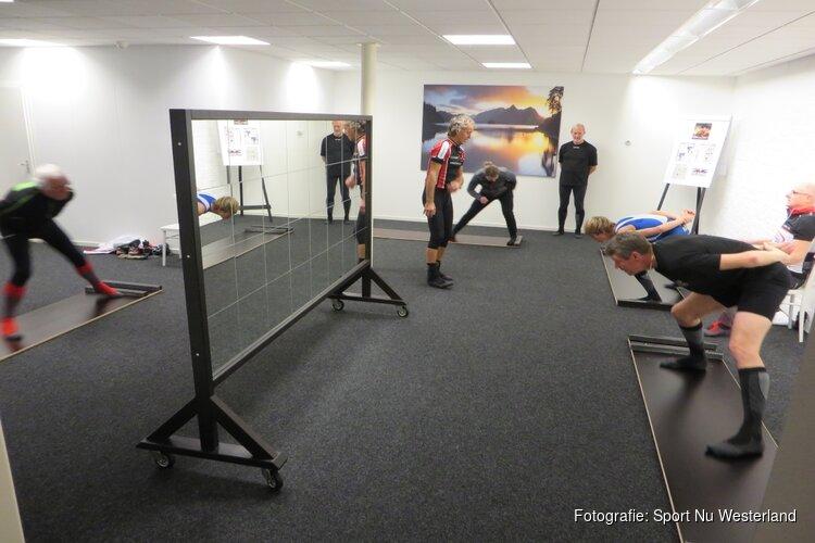 Schaatsplank Training op Westerland