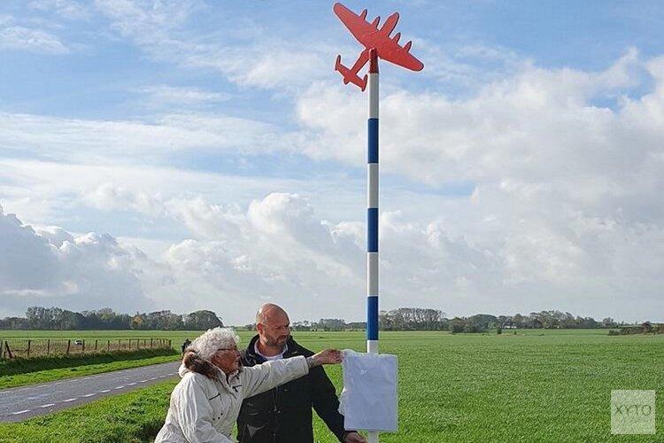 Tweede herdenkingspaal vliegtuigscrash WO II geplaatst