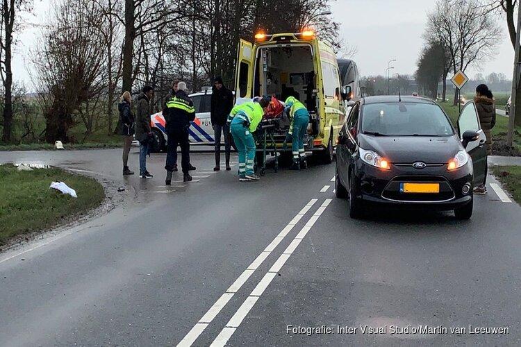 Gewonde bij ongeval Nieuwe Niedorp