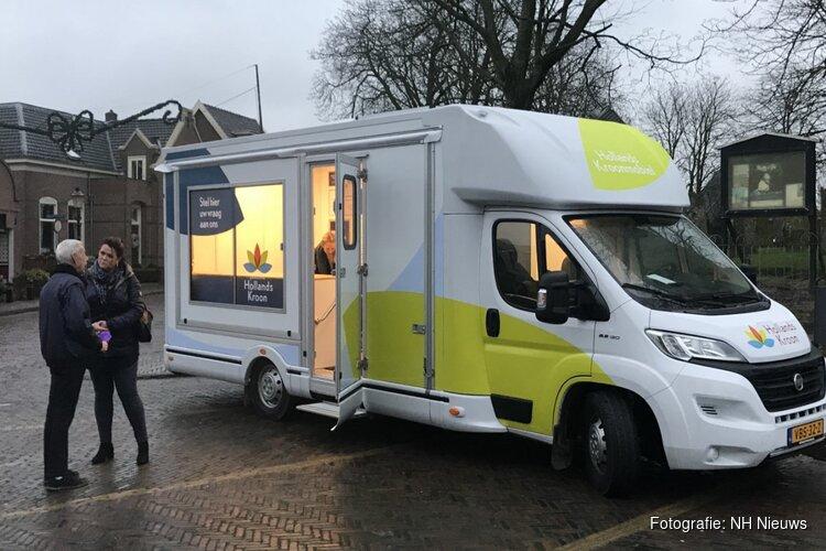 Hollands Kroon heeft vanaf vandaag een rijdend gemeentekantoor