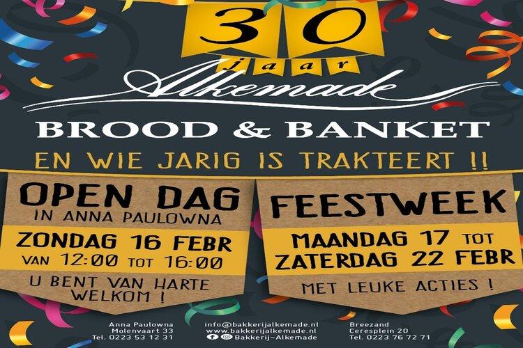 30 jaar Bakkerij Alkemade