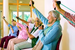Ouderen en minder validen toch in beweging met tips Team Sportservice