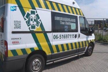 """Dierenambulance Den Helder gestopt met rijden: """"Zorg voor vrijwilligers gaat voor"""""""