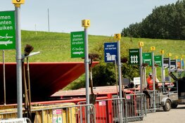 Omleiding naar HVC afvalbrengstation