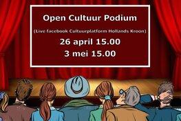 Deelnemers aan Open Cultuur Podium bekend