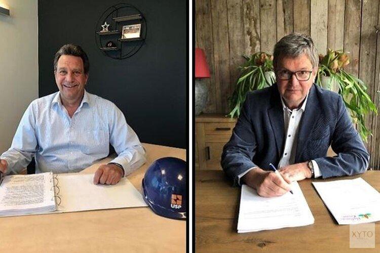 Contracten voor woningbouwplan aan de Bosstraat in Winkel getekend