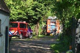Stacaravan in brand bij camping Wieringerwaard