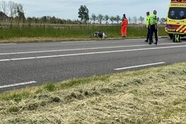 Motorrijder gewond in Anna Paulowna