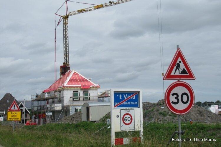 Volop bouwactiviteiten in bouwplan De Vrijheid