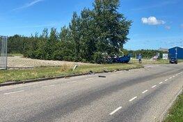 Gewonde bij eenzijdig ongeval Anna Paulowna