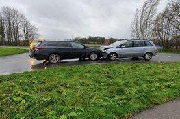 Ongeval op de Schelpenbolweg in Slootdorp