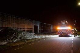 Brand bij paprikateler in Middenmeer